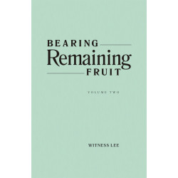 Bearing Remaining Fruit,...