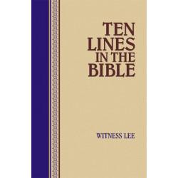 Ten Lines in the Bible