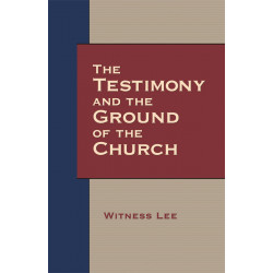 Testimony and the Ground of...