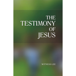 Testimony of Jesus, The