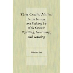 Three Crucial Matters for...