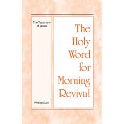 HWMR: Testimony of Jesus, The
