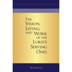 Vision, Living, and Work of...