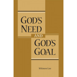 God's Need and God's Goal