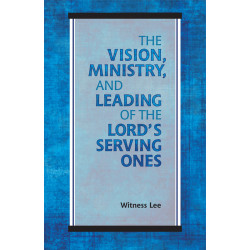 Vision, Ministry, and...