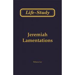 Life-Study of Jeremiah &...