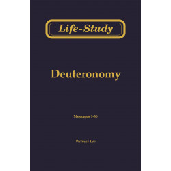 Life-Study of Deuteronomy
