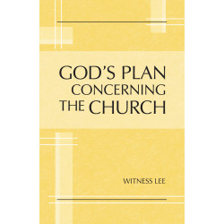 God's Plan concerning the...