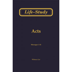 Life-Study of Acts, Vol. 1...