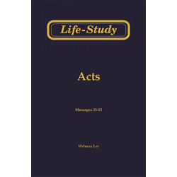 Life-Study of Acts, Vol. 3...