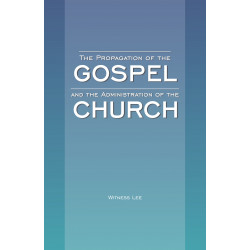 Propagation of the Gospel...