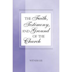 Faith, Testimony, and...