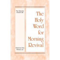 HWMR: Genuine Church Life, The