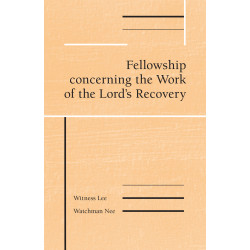 Fellowship concerning the...