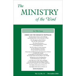 Ministry of the Word...