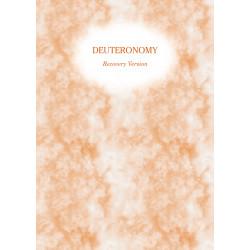 Deuteronomy Recovery...