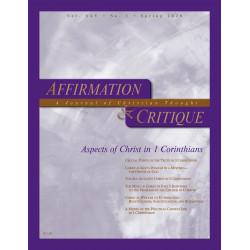 Affirmation and Critique,...