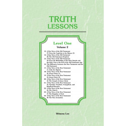 Truth Lessons, Level 1, Vol. 2