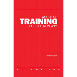Words of Training for the...