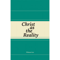 Christ as the Reality