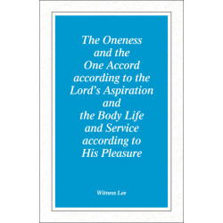Oneness and the One Accord...