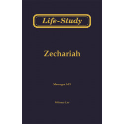 Life-Study of Zechariah