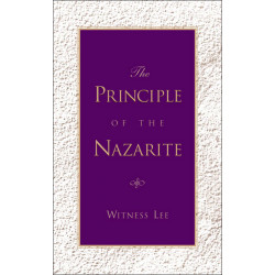 Principle of the Nazarite, The