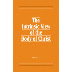 Intrinsic View of the Body...