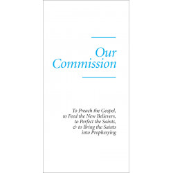 Our Commission (Tract)...