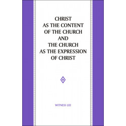Christ as the Content of...