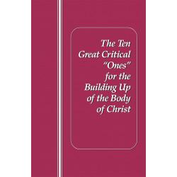 """Ten Great Critical """"Ones""""..."""