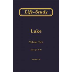 Life-Study of Luke, Vol. 2...