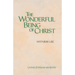 Wonderful Being of Christ, The