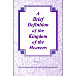 Brief Definition of the...