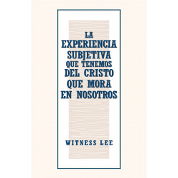 Experiencia subjetiva que...