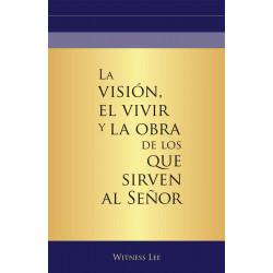 Visión, el vivir y la obra...