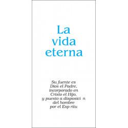 Vida eterna, La (volante)...